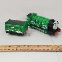 Thomas the Train Trackmaster FLYING SCOTSMAN & Rail Car 2013 Motorized Engine