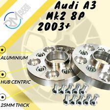 AUDI A3 Mk2 8P 2003 su 25mm Hubcentric Wheel Distanziatori 1 Paio