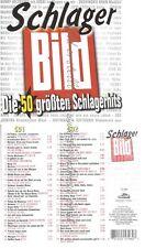 CD--BILD SCHLAGER-DIE 50 GRÖSSTEN SCHLAGERHITS -- WOLFGANG PETRY, UDO JÜRGENS, D