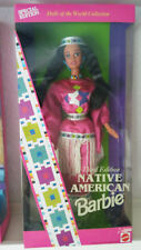 Native American barbie - 3. Edition-dolls of the World-Never - 1994-dow-se
