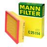 For BMW E46 325i 330i X3 Z4 Air Filter MANN C 25 114 New