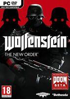 WOLFENSTEIN THE NEW ORDER PC - Excellent - 1st Class Delivery