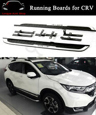 UDP 2 Pieces Fixed Door Side Step Fit for Honda CRV CR-V 2017 2018 2019 2020 Factory Style Running Board Nerf Bar