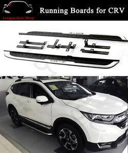 Fits for Honda CR-V CRV 2018 2019 2020 2021 Side Step Nerf Bars Running Boards