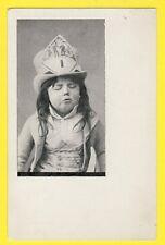 Carte Postale Ancienne PORTRAIT ENFANT GARÇON Costume CHAPEAU BOY HAT Number 1