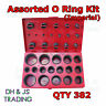 Assorted O-Ring Kit Imperial, 30 sizes Hinged Box (Moulded) Qty 382 Popular