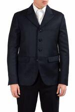Dsquared2 Men's 100% Wool Three Button Blazer Sport Coat US 38 IT 48