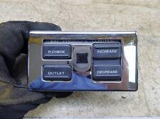 1989 Honda Goldwing GL1500 H1564. air suspension pressure control panel switches