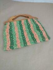 Vintage Knitting/Crocheting Bag Travel bag Purse Excellent Condition