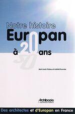 EUROPAN 20 ANS Violeau Pommier Archibooks + PARIS POSTER GUIDE