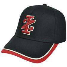 Izod Clothes Brand Name Constructed Logo Flex Fit Small Medium Black Red Hat Cap