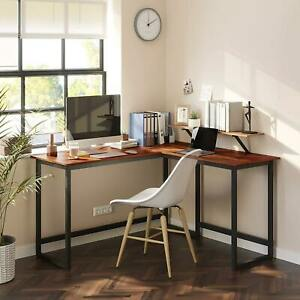 L-Shaped Computer Desk Modern Laptop Table Study Table Home Office