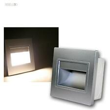 Parete Faretto Argento, PANNOCCHIA LED bianco caldo Luce a livelli Riflettori da