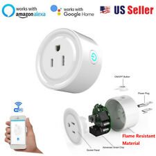 Smart WiFi Plug Outlet Phone App Home Remote Switch Work With Amazon Alexa Echo