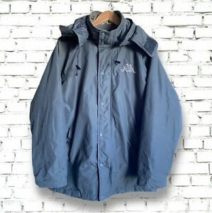 Retro Kappa  Parka/Jacket - Medium Mens Grey