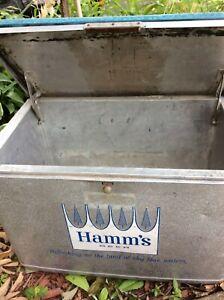 Vintage Hamm's cooler