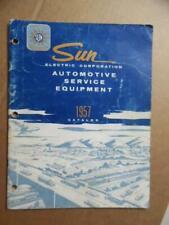 1957 Sun Electric Automotive Service Equipment Catalog Testers Tools Vintage