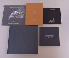 Lot of Watch Catalogs PANERAI:  2006, 2011, 2013 GIRARD PERREGAUX: 2004/05+BMW
