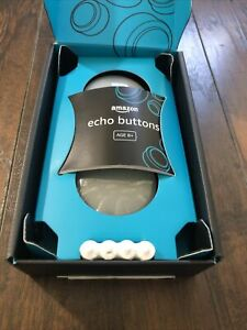 ⭕️ Amazon Echo Buttons Alexa Gaming Gadget (2 Buttons) Batteries Included