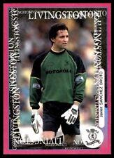 Panini SPL Goma Pegatinas 2001-Javier Sanchez anticipo (Livingston) Nº 49