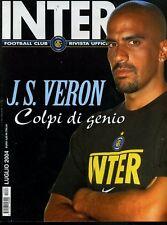 Inter Football Club anno 2004 n° 07 J. S. Veron