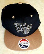 New ListingWake Forest Demon Deacons Hat Snapback Zephyr Embroidered Raised Logo Cap New