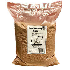 Hazelnut Shell Media - Hazel Shell Tumbling Media - 10 lbs.