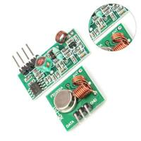 1X RF 433Mhz Transmitter Sender and Receiver Module Kit for-Arduino Raspberry Pi