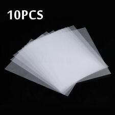 10x Heat Shrink Paper Film Sheets for Jewelry Making Craft Deco Rough Polish