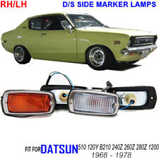 DATSUN 510 120Y B210 240z side marker lights NEW Clear Amber