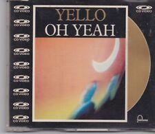 YELLO-Oh Yeah cd video maxi single