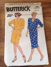 BUTTERICK easy vintage sewing pattern (3226)  size 8 dresses