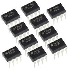 10x Circuito integrado TI NE555 DIP-8