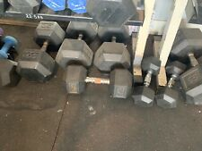 Dumbbells sold as package only