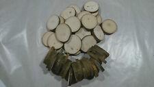Wood Slice Tree Trunk Craft Rustic Wedding Table Decoration 70-80/80-90 mm 50pcs