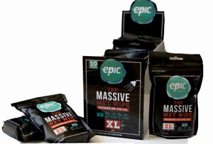 EPIC WIPES XL 10-PACK EXTRA LARGE WET WIPES