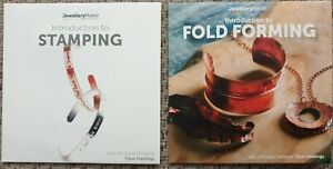 INTRO 2 STAMPING & FOLD FORMING craft tuition DVD beads tools JEWELLERY LOT