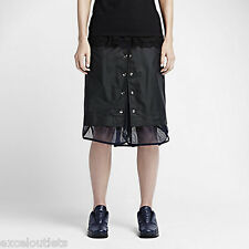 NWT! NikeLab x Sacai Windrunner WMNS Skirt Sz L 717221 010 (#3024)