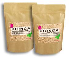 Quinoa weiß 2kg, (2 x 1kg) Ausgezeichnete Pflanzliche Proteinquelle