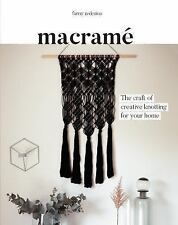 Macrame: The Craft of Creative Knotting by Fanny Zedenius Paperback Book