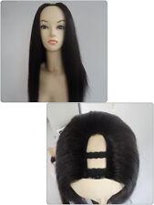 U part Wig Silky Natural Straight 200g Centre Part Premium Quality