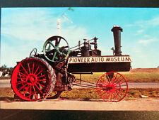 Murdo SD Pioneer Auto Museum J.I. Case Steam Engine Postcard 1950s