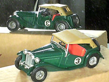 MG TC 1945 / MATCHBOX YESTERYEAR Y8 /VERSION 1979 VERT ANGLAIS