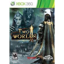 Two Worlds II 2 Genuine Xbox 360 Game NEW SEALED