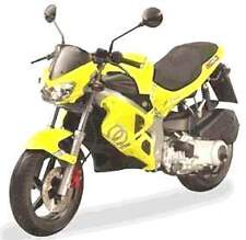 GILERA TOUCH UP PAINT DNA 50 125  LEMON YELLOW .