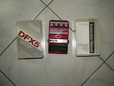 DOD DFX5 Digital Turbo Distortion effect pedal Stomp Box RARE NEW (old stock )