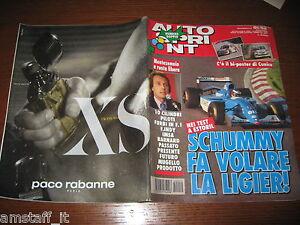AUTOSPRINT 1994/51-52=MICHAEL SCHUMACHER=MONTEZEMOLO=VERO LA PARIGI-DAKAR=