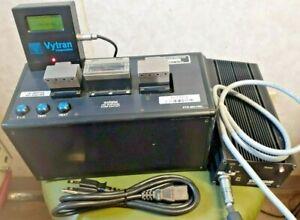 *NICE* Vytran PTR-200-HSL Optical Fiber Tester, w/MCM-200 Display & Tascom Pwr