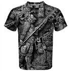 Ancient Aztec Art Sublimation Sublimated Men's T-Shirt S,M,L,XL,2XL,3XL