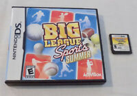 Nintendo DS Game Cartridge Big League Sports Summer with Case